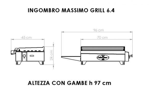 grill 6-4 dimensioni bbqueengrill