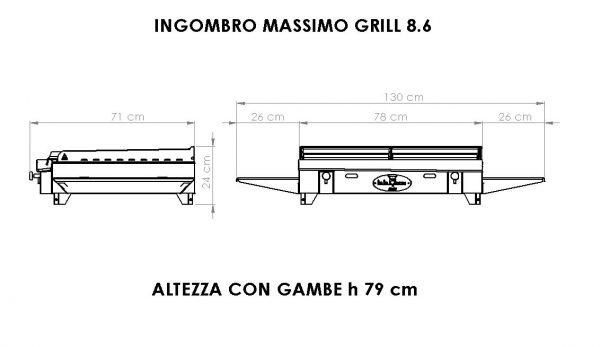 grill 8-6 dimensioni bbqueengrill
