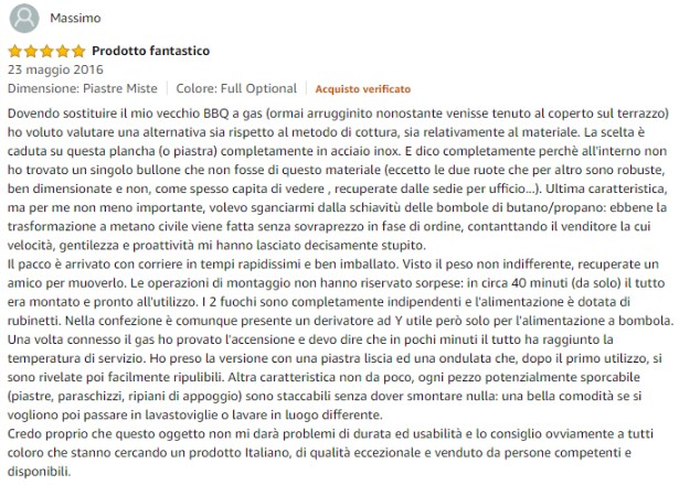 recensione amazon bbqueengrill 2